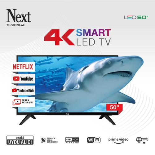 YE-50020-4K 50 İnç TV
